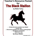 Teacher's Resource Packet for The Black Stallion