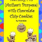 Teaching PIE (Author&#039;s Purpose) With Chocolate Chip Cookies