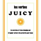 Teaching Preterite Verbs the JUICY Way!