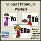 Teaching Subject Pronouns with Pictures