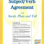 Teaching Subject/Verb Agreement with Sarah, Plain and Tall