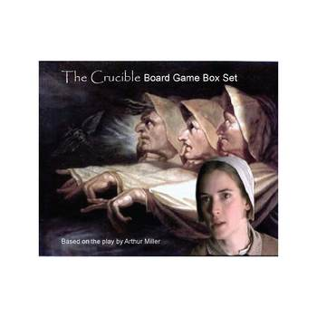 Teaching THE CRUCIBLE box set lesson plans, board game