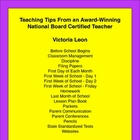 Teaching Tips From an Award-Winning National Board Certifi