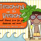 Teaching on the Beach {Beach Theme Classroom Part Two}