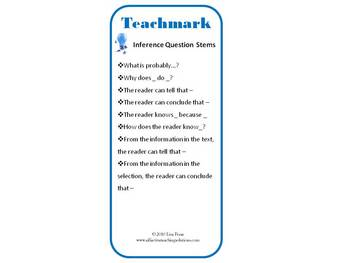 Teachmark for Inference - A Teachable Bookmark