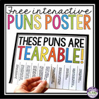 Tearable Puns!  A Fun Poster That Your Students Will Love