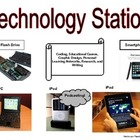 Technology Station: Learning Center Label