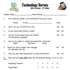 Technology Survey about your Students