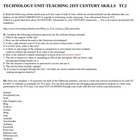 Technology in the Classroom: The BEST websites out there Project