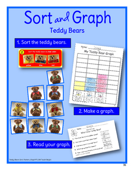 Teddy Bears Sort, Pattern, Graph