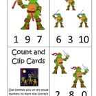 Teenage Mutant Ninja Turtles daycare curriculum game.  Cou