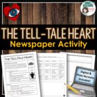 Tell-Tale Heart Newspaper Project / Writing Assignment