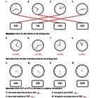 Telling Time Assessment (2-MD-7)