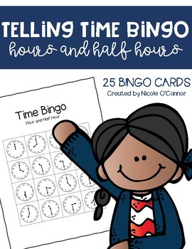 http://www.teacherspayteachers.com/Product/Telling-Time-Bingo-Game-to-the-hour-and-half-hour-385583