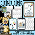 Telling Time Center Game - Puppy's Party Time!