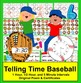 Telling Time Clocks Math Centers: Play Catch at 3 Levels
