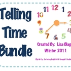 Telling Time Fun Activity Bundle with Practice and Activities
