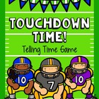 Telling Time Game!!! Are You Ready For Some Football? - CO