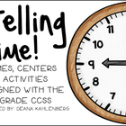 Telling Time! {Games, Centers and Activities}