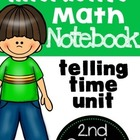 Telling Time Interactive Math Notebook FREEBIE