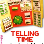 Telling Time Lapbook File Folder Activities