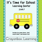 Telling Time Learning Center - Back to School - Common Cor