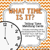 Telling Time Matching with Assessments