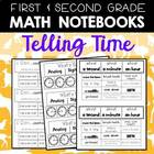 Telling Time Printables for 1-2 Math Journals