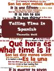 Telling Time in Spanish Fun Thematic Unit Bundle