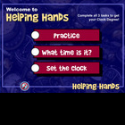Telling Time with HELPING HANDS!