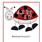 Telling Time with Ladybug Clocks