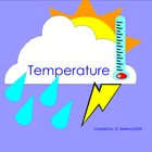 Temperature Smartboard Lesson