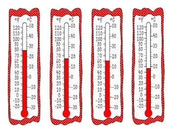 Temperature and Thermometer Match Up - Expanded Packet!!