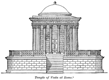 Temple of Vesta, Rome