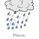 Tempo (Weather in Italian) mini-posters