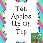 Ten Apples Up On Top Activities