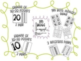 Ten Block Poster & Memory Game