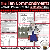 Ten Commandments Activity Packet