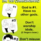 "Ten Commandments ""Look n' Learn"" Video"