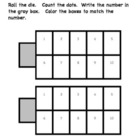 Ten Frame Dice Activity