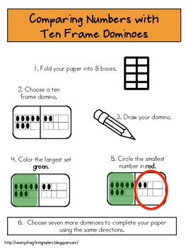 Ten-Frame Dominoes
