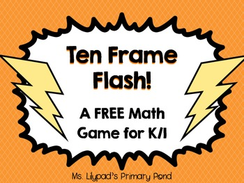 Ten Frame Flash Math Center