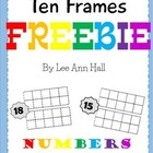 Ten Frame Freebie