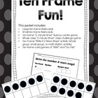 Ten Frame Fun!  Ten Frame Activities and Games