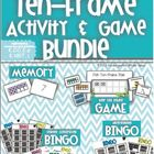 Ten Frame Game and Activity Bundle
