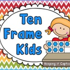 Ten Frame Kids Posters