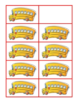 Ten Frame Math Sets - 25 Themes for the Year!