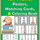 Ten-Frames Kids Numbers 0-10 {Posters, Matching Cards, and