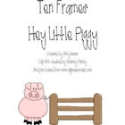 Ten Frames - Pig Themed