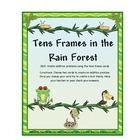 Ten Frames ( Rainforest Theme)